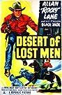 Desert of Lost Men (1951) Poster