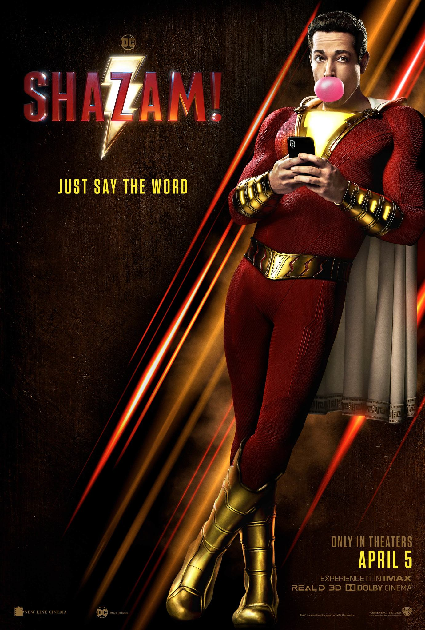 Image result for shazam movie poster