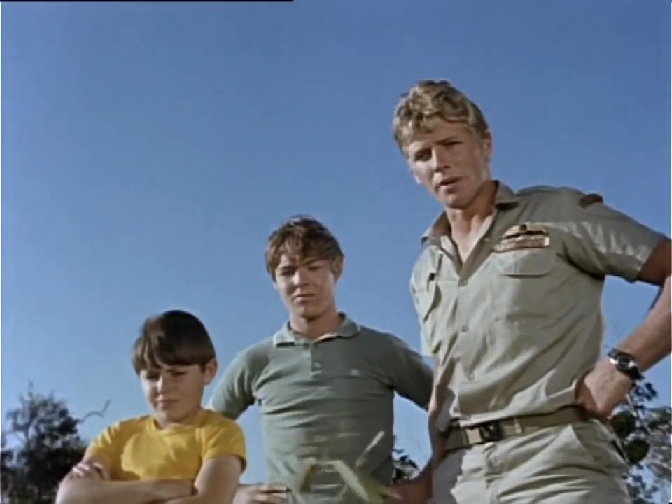 Tony Bonner, Ken James, and Garry Pankhurst in Skippy (1968)