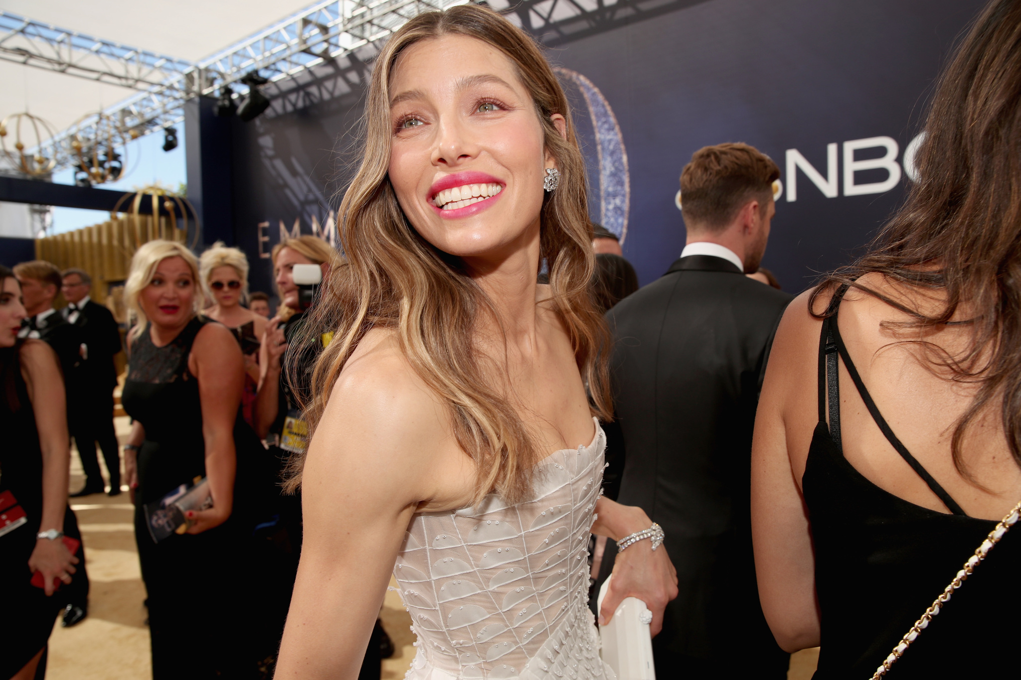 Jessica Biel at an event for The 70th Primetime Emmy Awards (2018)