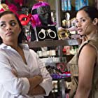 Lauren London and Dascha Polanco in The Perfect Match (2016)