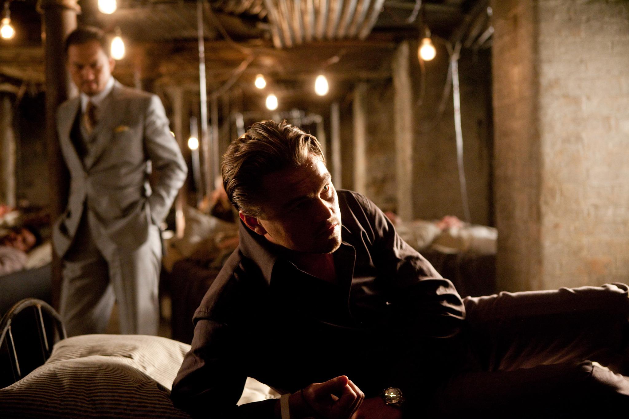 Leonardo DiCaprio and Ken Watanabe in Inception (2010)