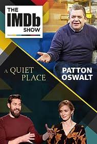 Patton Oswalt, John Krasinski, and Emily Blunt in The IMDb Show (2017)