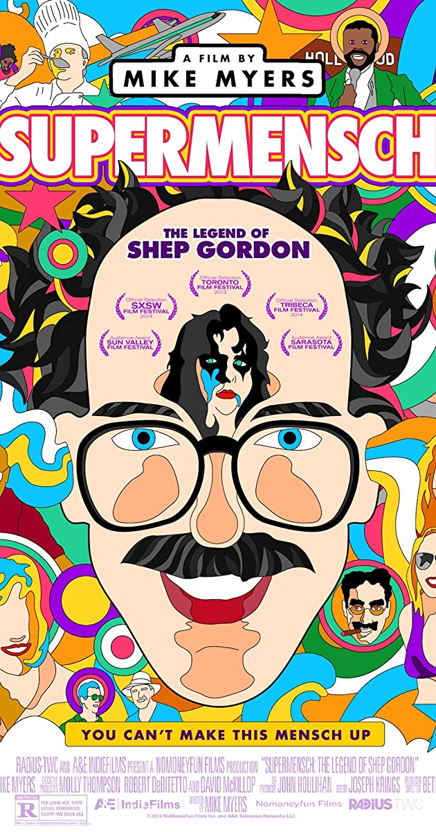 Subtitle of Supermensch: The Legend of Shep Gordon