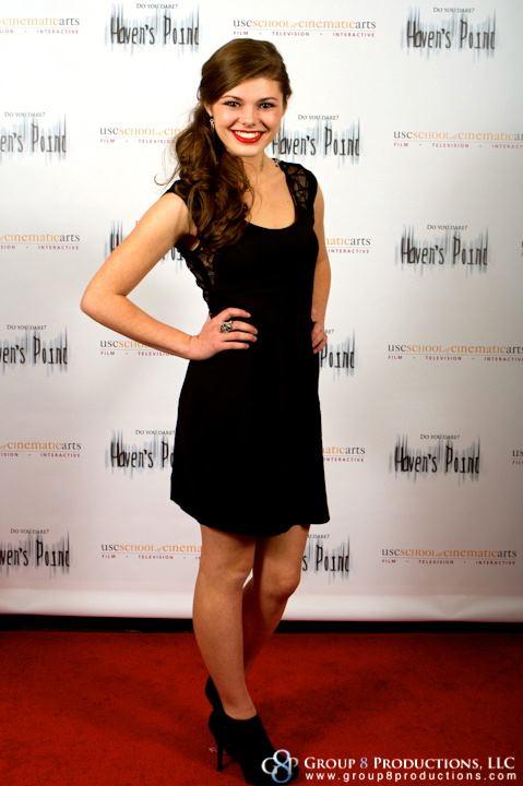 "Morgan Obenreder at the ""Haven's Point"" Premiere Directed By: Anna Elizabeth James"