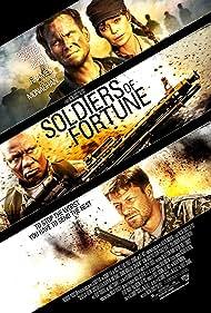 Christian Slater, Sean Bean, Ving Rhames, and Oksana Korostyshevskaya in Soldiers of Fortune (2012)