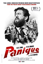 Panique Poster