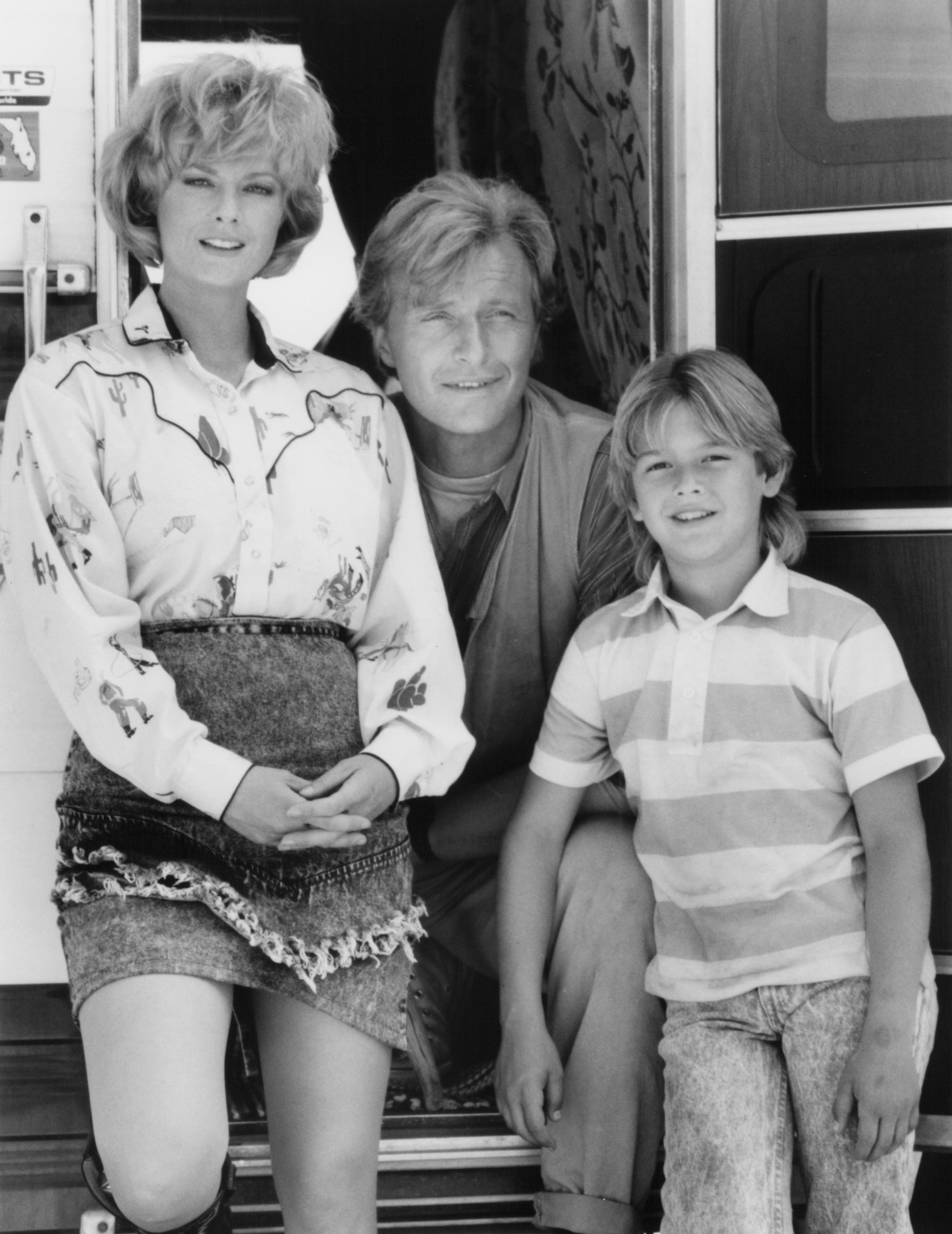 Rutger Hauer, Lisa Blount, and Brandon Call in Blind Fury (1989)