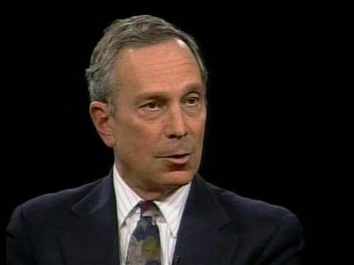 Michael Bloomberg in Charlie Rose (1991)
