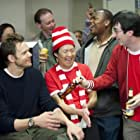Ken Jeong, Joel McHale, and John Oliver in Community (2009)