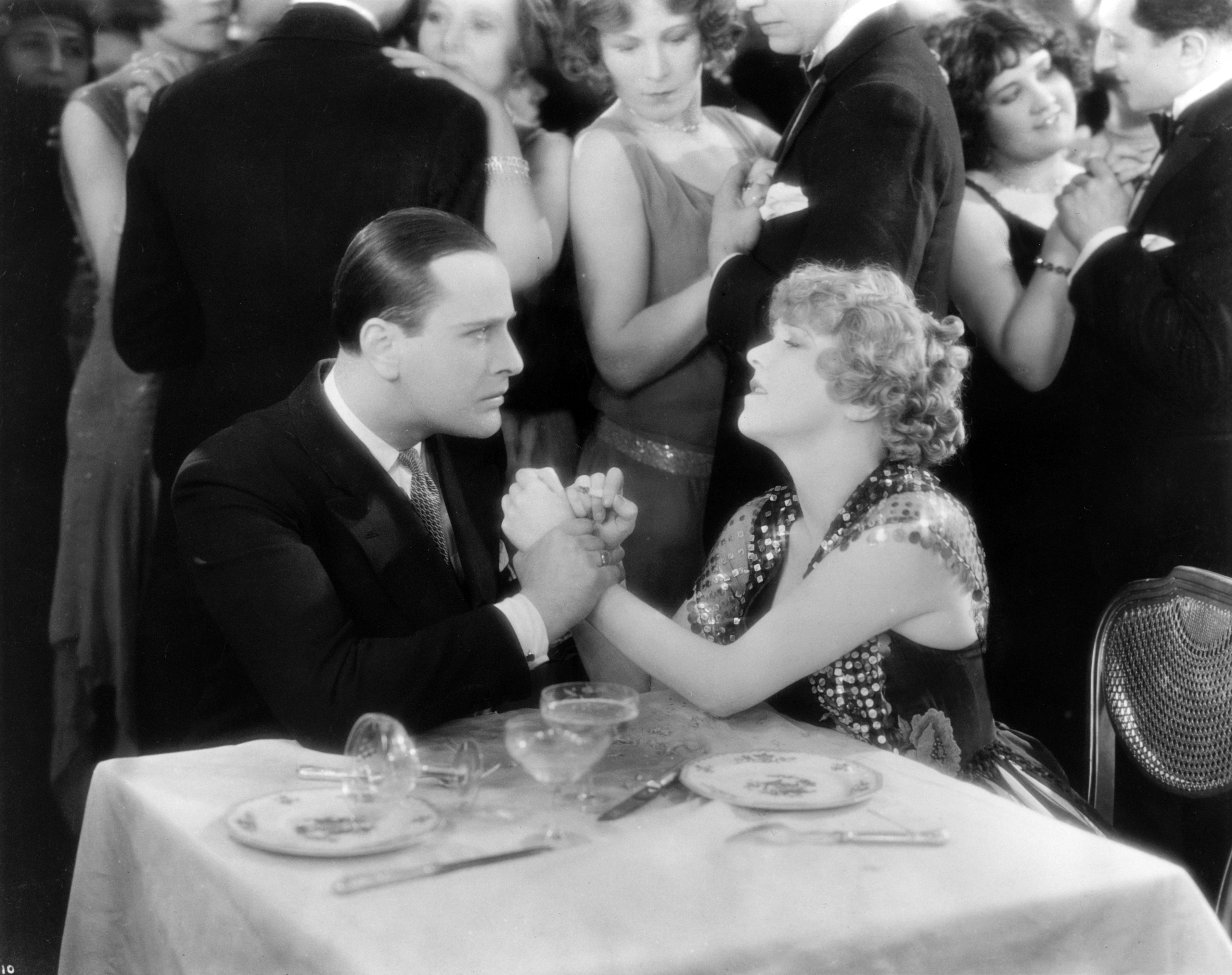 Betty Balfour and Jean Bradin in Champagne (1928)