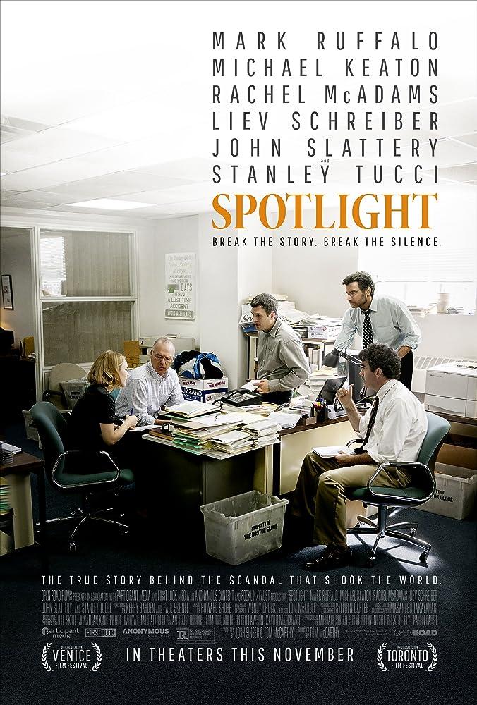 Michael Keaton, Liev Schreiber, Brian d'Arcy James, Mark Ruffalo, and Rachel McAdams in Spotlight (2015)