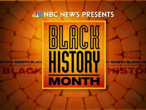 دانلود زیرنویس فارسی سریال NBC News Presents: Black History Month