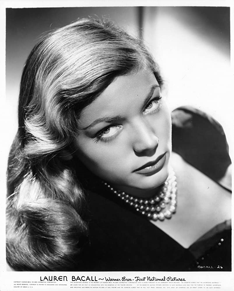 Lauren Bacall in To Have and Have Not 1944