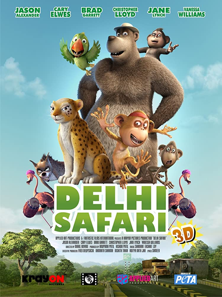 Delhi Safari (2012) Hindi Dubbed