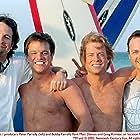 Matt Damon, Greg Kinnear, Bobby Farrelly, and Peter Farrelly in Stuck on You (2003)