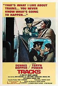 Dennis Hopper and Taryn Power in Tracks (1976)