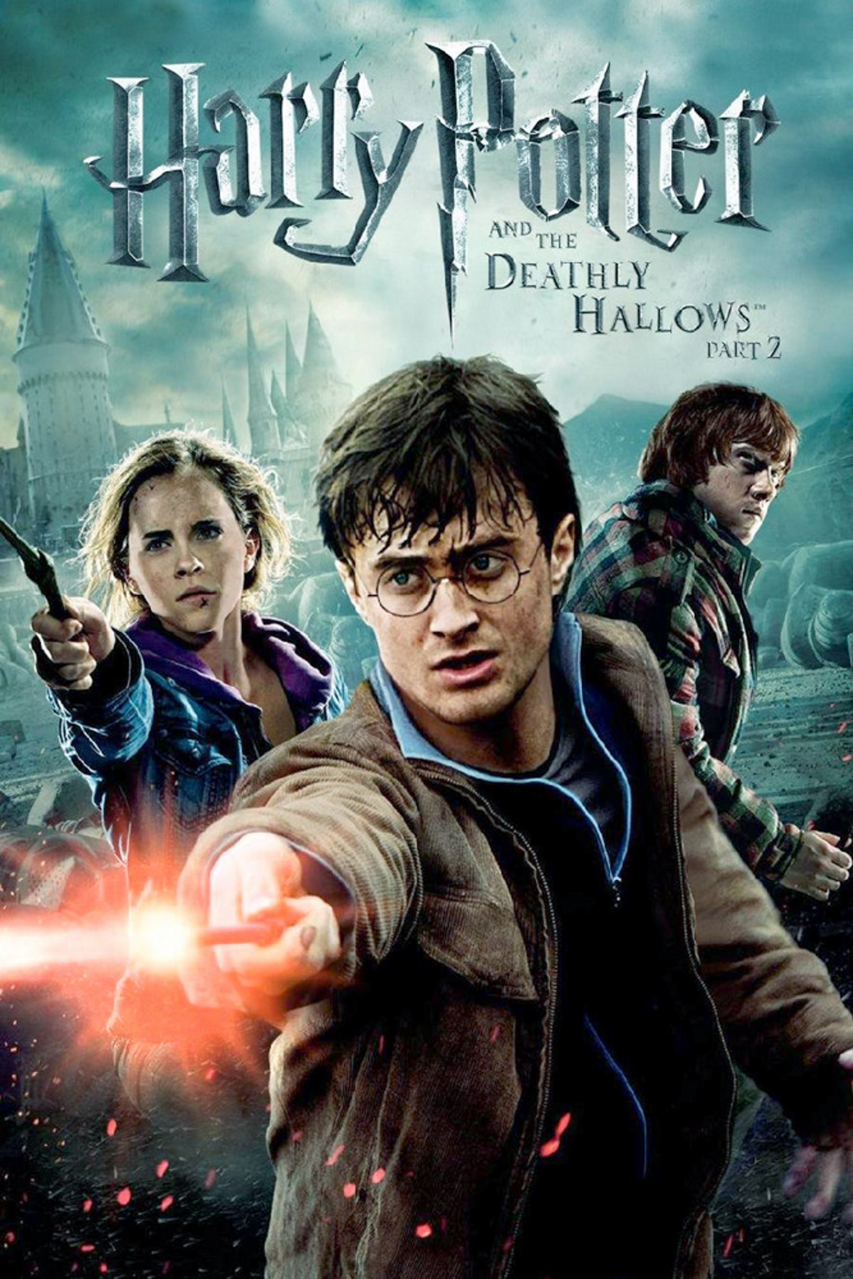 FANTASY MOVIE POSTER Harry Potter and the Deathly Hallows Part 2 Harry