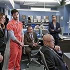 Mary McDonnell, G.W. Bailey, Michael Paul Chan, Raymond Cruz, Phillip P. Keene, Kearran Giovanni, and Daniel di Tomasso in Major Crimes (2012)