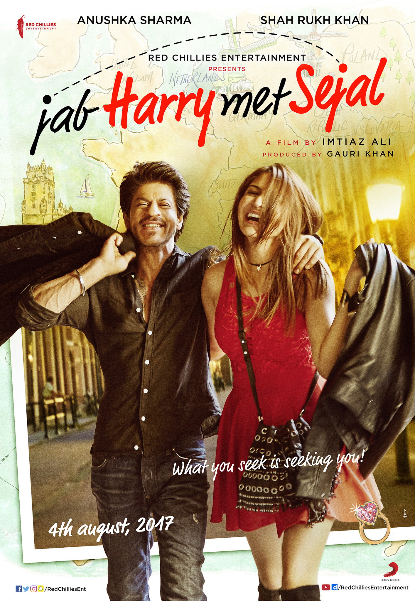 Jab Harry Met Sejal (2017) BluRay 480p & 720p