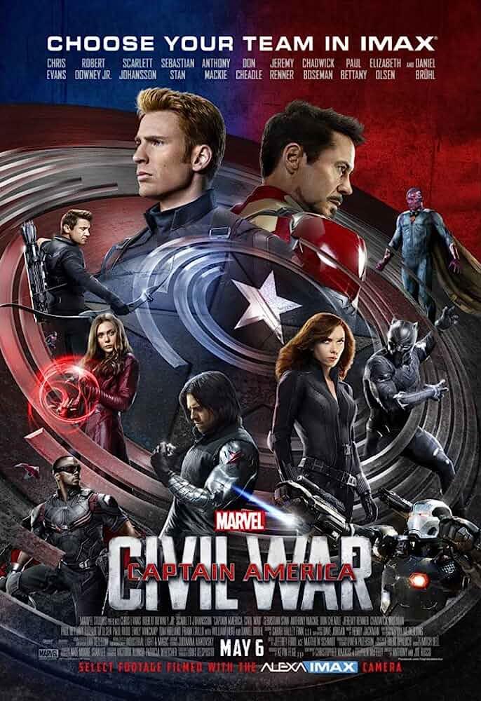 Captain America: Civil War (2016) in Hindi