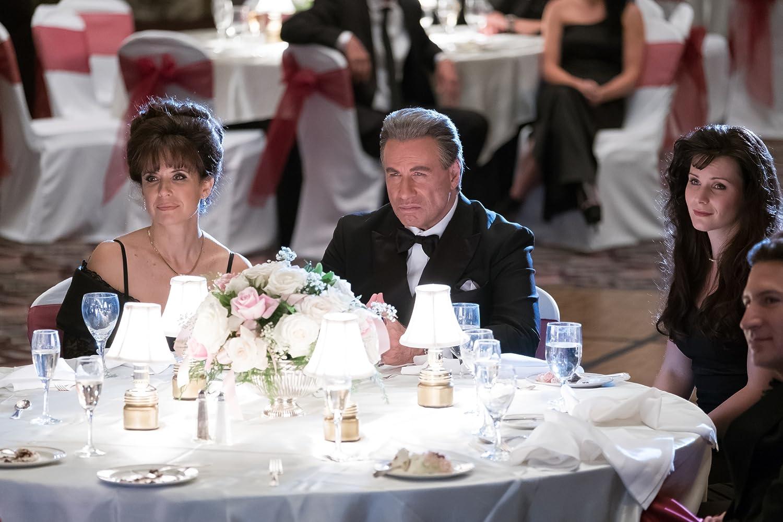 John Travolta and Kelly Preston in Gotti (2018)