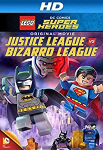 Movie listings Lego DC Comics Super Heroes: Justice League vs. Bizarro League [1680x1050]