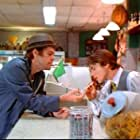 """Brian Vincent with David Johansen of the legendary New York Dolls in the cult hit comedy """"The Deli"""""""