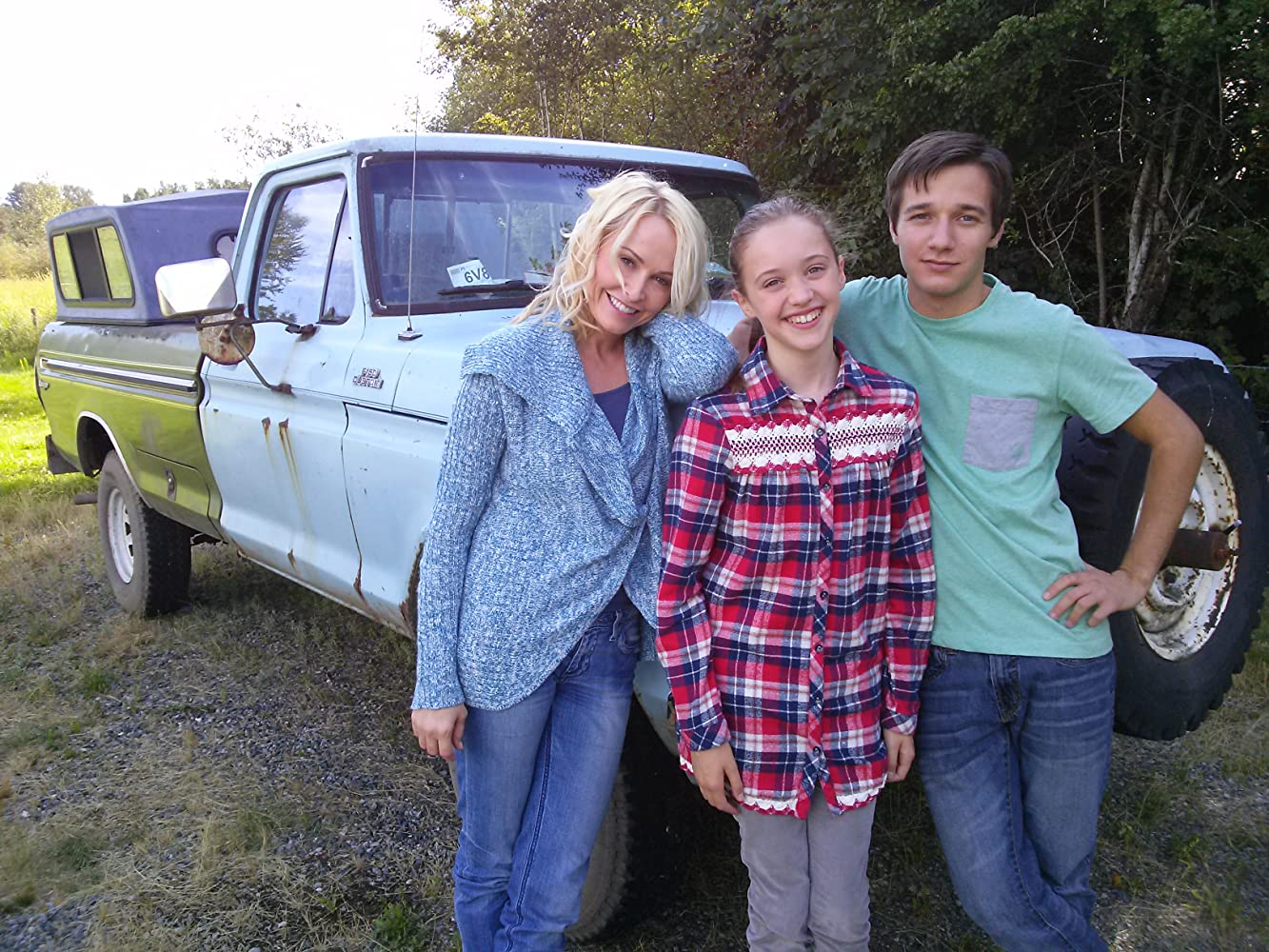 On The Set Of Paper Angels Movie With Josie Bissett And Rustin Gresiuk