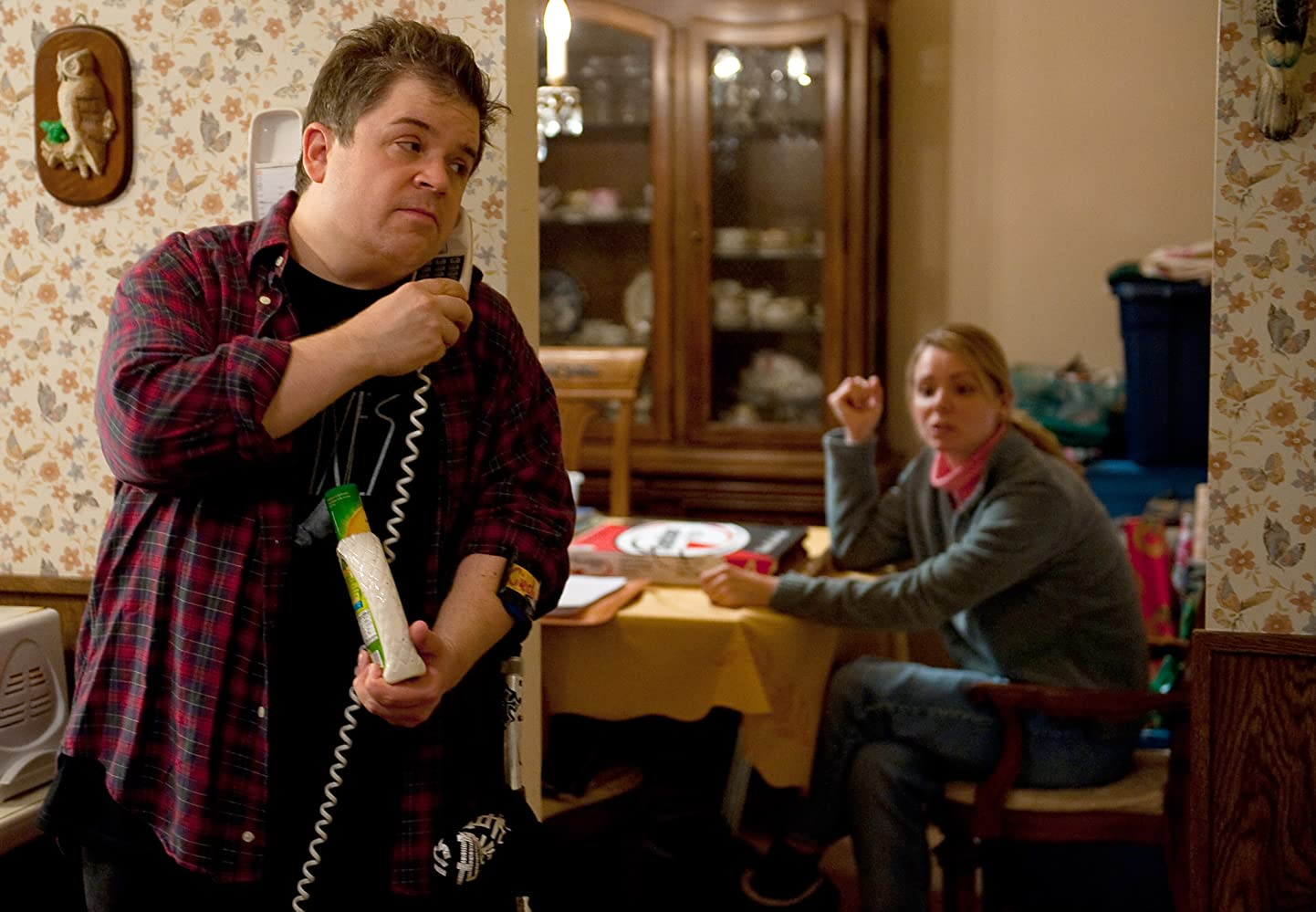 Patton Oswalt and Collette Wolfe in Young Adult (2011)