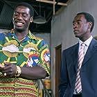 Don Cheadle and Hakeem Kae-Kazim in Hotel Rwanda (2004)