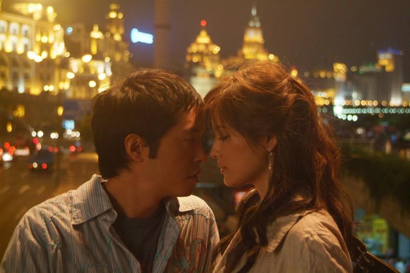 Kelly Hu and Ken Leung in Shanghai Kiss (2007)