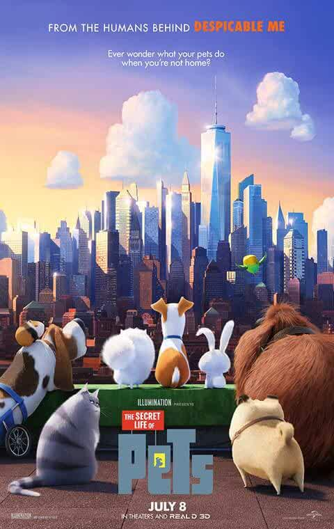 The Secret Life Of Pets (2016) Dual Audio Hindi Full Movie Watch Online Download 480p BluRay [300 MB]