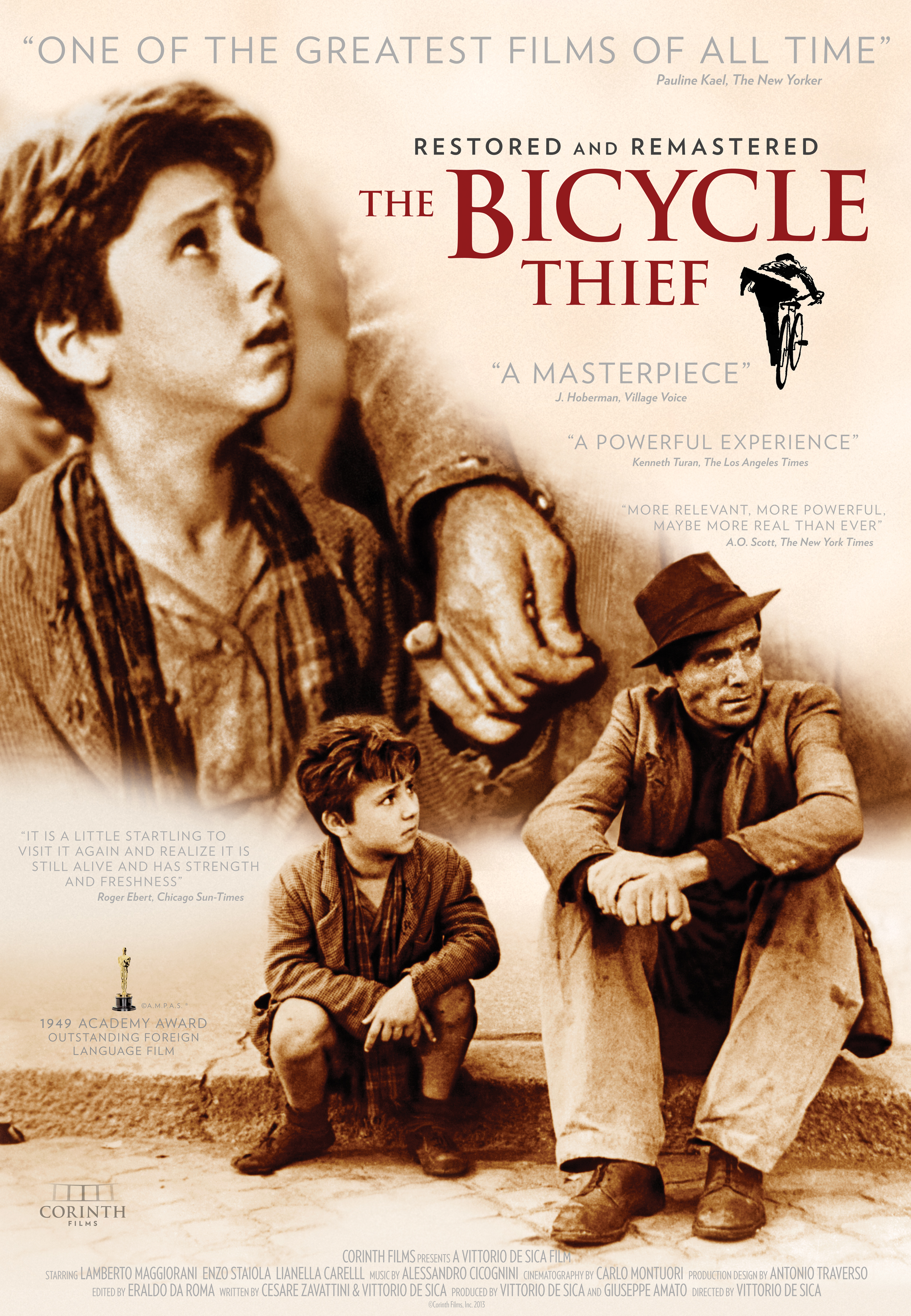 Image result for photos from The Bicycle Thieves
