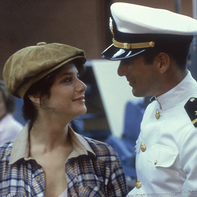 Richard Gere and Debra Winger in An Officer and a Gentleman (1982)