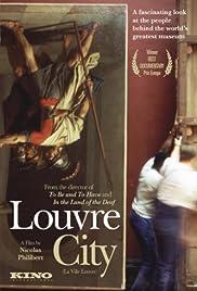 La ville Louvre Poster
