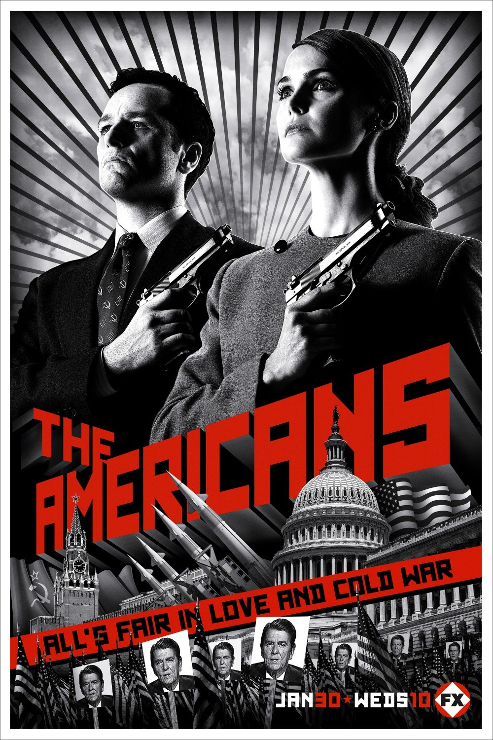 Girls of `The Americans s02 - 2014 HD 720/1080p new images