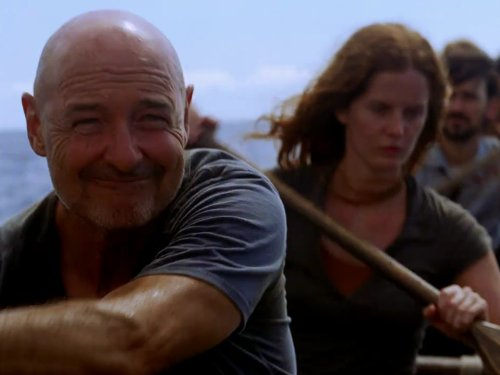 Terry O'Quinn and Rebecca Mader in Lost (2004)