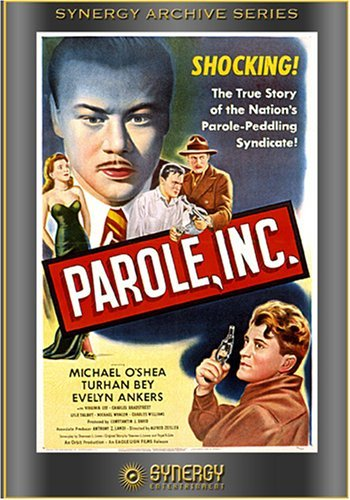 Turhan Bey, Evelyn Ankers, and Michael O'Shea in Parole, Inc. (1948)