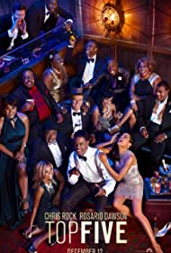 Chris Rock, Gabrielle Union, Cedric the Entertainer, Rosario Dawson, Hassan Johnson, Romany Malco, Tracy Morgan, Hayley Marie Norman, and J.B. Smoove in Top Five (2014)