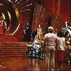 Melody Anderson, Ornella Muti, Max von Sydow, Sam J. Jones, Topol, and Peter Wyngarde in Flash Gordon (1980)