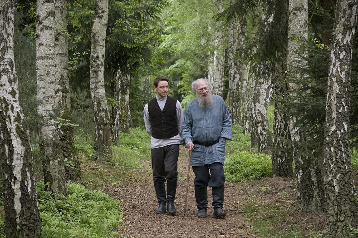 Christopher Plummer and James McAvoy in The Last Station (2009)