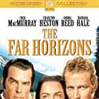 Charlton Heston, Donna Reed, and Fred MacMurray in The Far Horizons (1955)