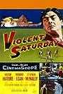 Violent Saturday (1955) Poster