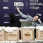 Max Burkholder at an event for The IMDb Studio at Sundance (2015)