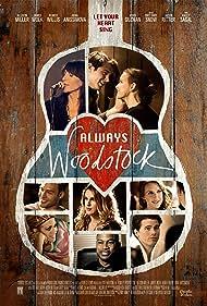 Katey Sagal, Jason Ritter, Brittany Snow, Rumer Willis, Allison Miller, James Wolk, Anna Schafer, and Ryan Guzman in There's Always Woodstock (2014)