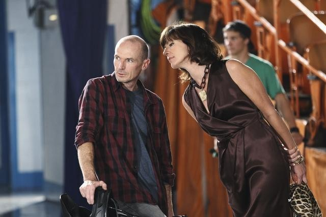 Allison Janney and Toby Huss in Mr. Sunshine (2011)
