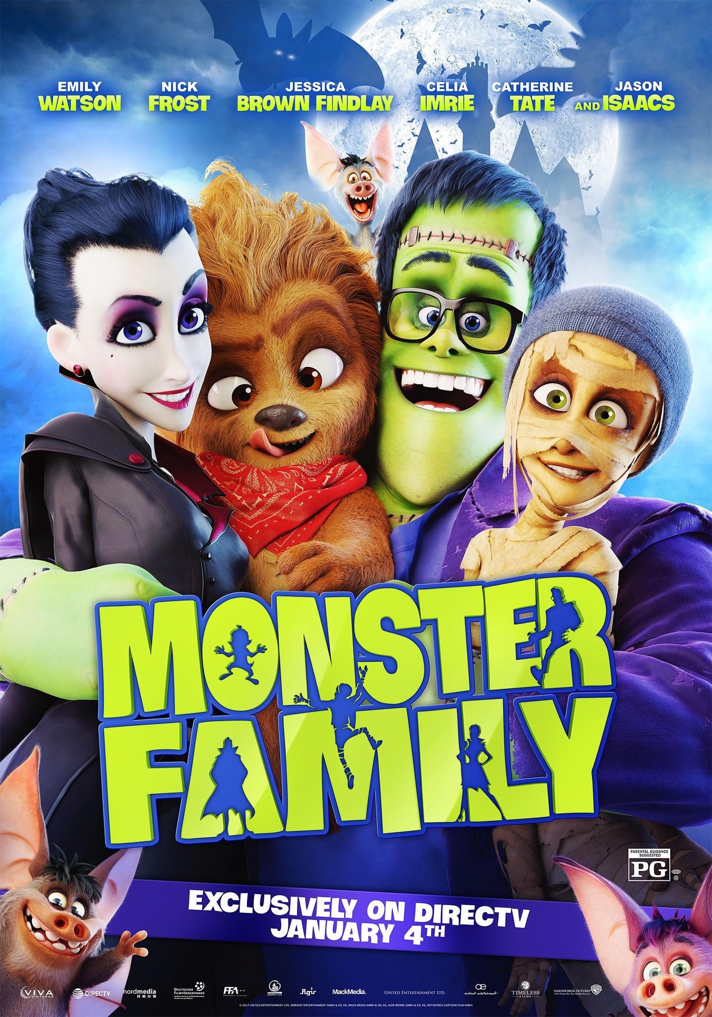 Monster Family 2017 Imdb