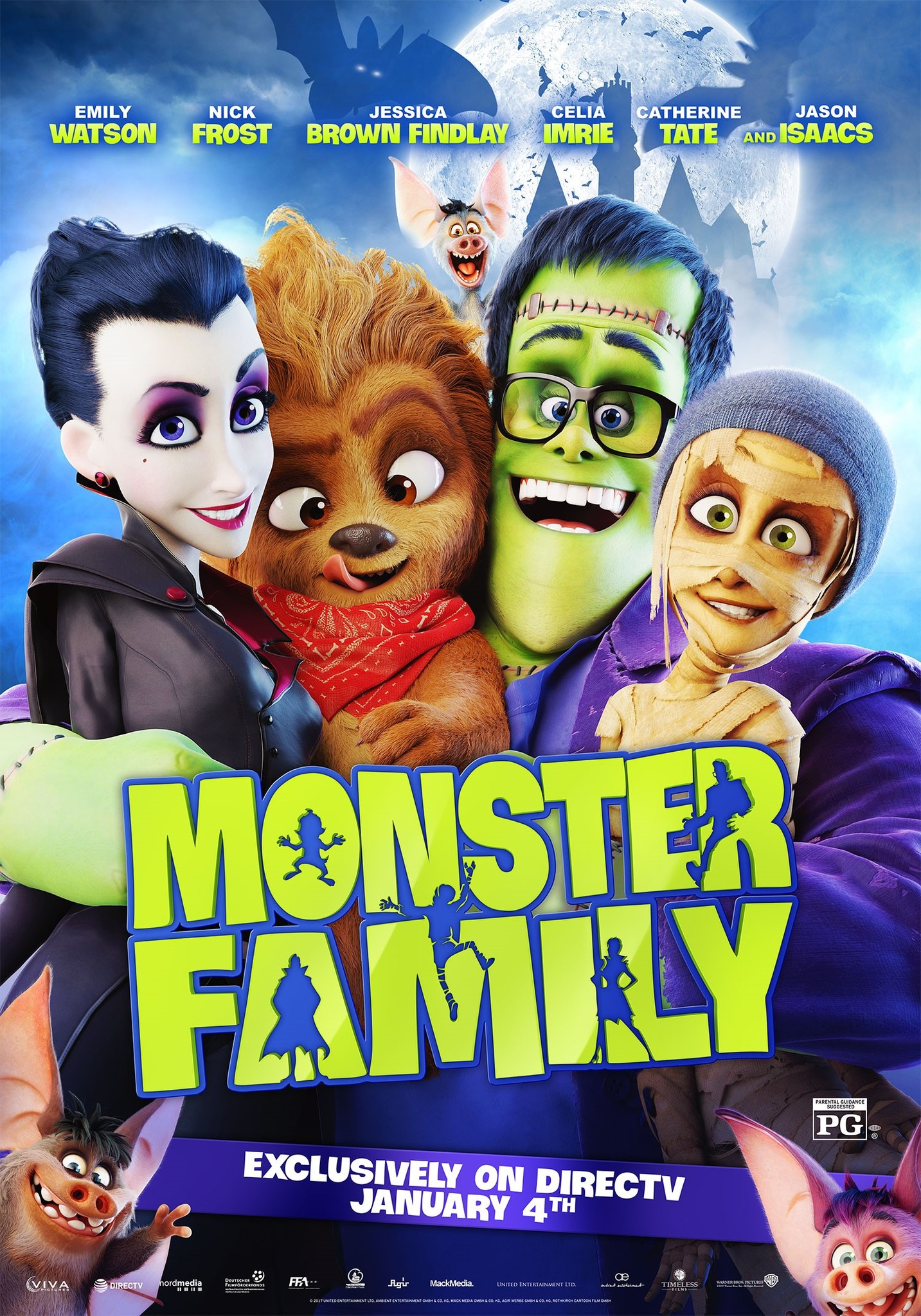 Monster Family (2017) BluRay 720p