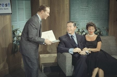 """""""This Is Your Life,"""" Milton Berle and Ralph Edwards. 1956/NBC"""